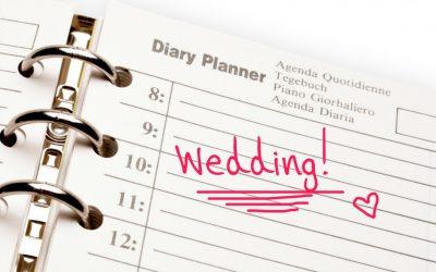 Planning your Wedding Schedule for a Sydney Wedding Basic Timeline